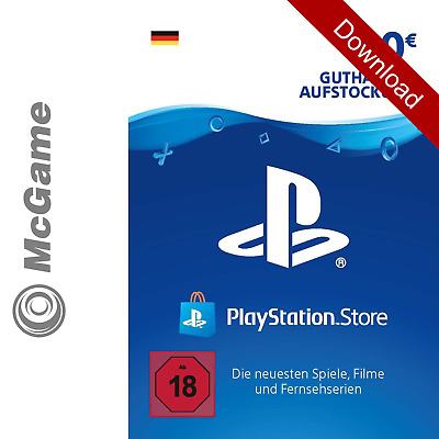 Playstation Network Code Key Card DE 10 Euro € EUR | PSN | PS4 PS3 Guthaben 5