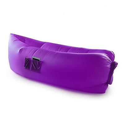 ChillSax Inflatable Air Lounger (Purple)