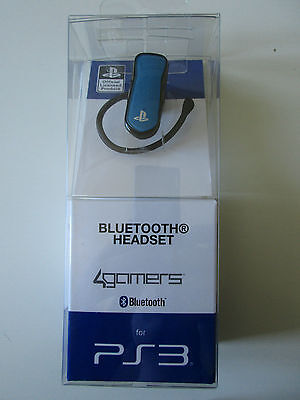 Auricolare per PS3 - Cuffie 4gamers Bluetooth Headset