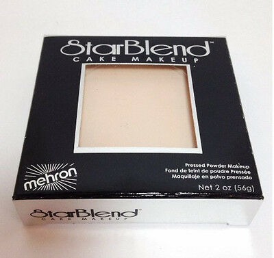 StarBlend Cake Ivory Bisque Mehron Makeup Make Up Stage Theatrical Foundation