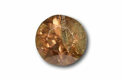 Grenat change couleur / vanadium naturel 0.78 carat, orange / vert