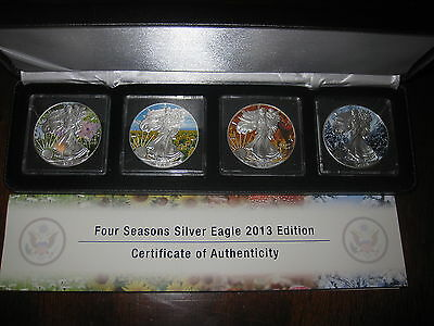 Four Seasons Silver Eagle 2013 Edition - Limited Edition With Coa
