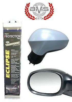 Transparent Protection Film Wing Mirror Cover & Glass Protective 1.4m x 25cm