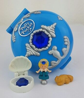vintage polly pocket Jeweled Sea 100%Complete 1992 excellent  Condition