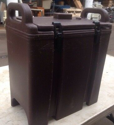 Cambro 350LCD Insulated Food/Soup Carrier -Hot/ Cold. 3.375 Gallon OUR #3