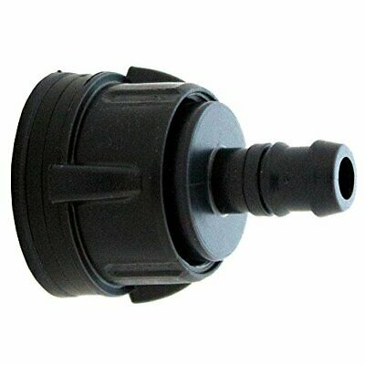 13mm Tank Bulkhead Connector Tub Outlet Pipe Fittings Hydroponic Irrigation Pond