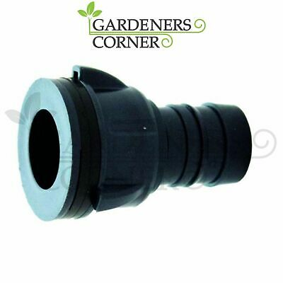 25mm Tank Bulkhead Connector Tub Outlet Pipe Fittings Hydroponic Irrigation Pond