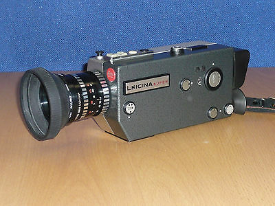 LEICINA SUPER super 8 Motion Picture camera Very Rare highly desirable LOOK!