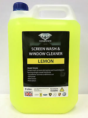 LEMON 5 Litre Screenwash 5L Extreme Cold Winter -75C Protection Screen Wash NEW