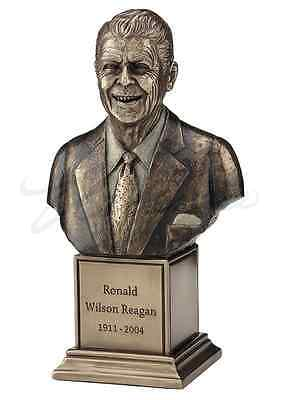 Ronald Reagan Bust Statue Sculpture Figure  - Gift Boxed