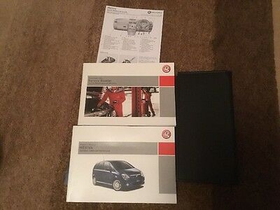 VAUXHALL MERIVA A 2006-2009 Owners Manual Handbook & SERVICE BOOK w/ Wallet Pack