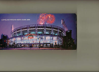 1995 Cleveland Indians Media Guide- Excellent condition