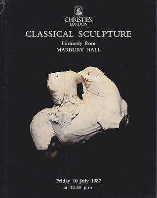 Marbury Hall, Cheshire Classical Sculpture Auction Catalogue