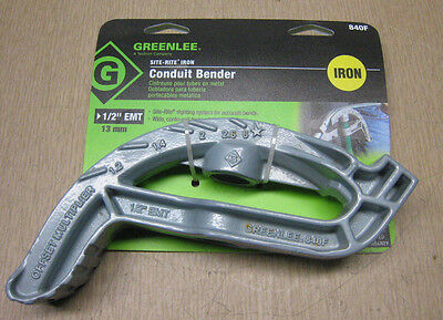 "NEW GREENLEE 840F Hand Bender 1/2"" EMT Conduit FREE SHIPPING"