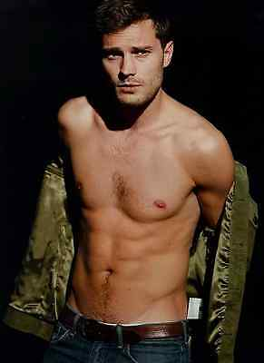 Unofficial JAMIE DORNAN 11 *A3* print Poster - Fifty Shades Christian Grey