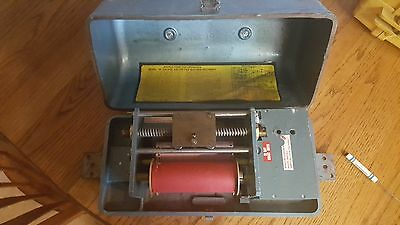 Old General Electric wind up chart recorder made by Impact register