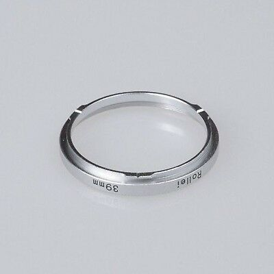 Fotodiox Step Ring Bayonet II (Bay 2) - 39mm Filter Adapter for Rolleiflex Ro...