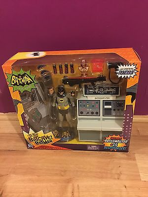 Batman 6-Inch Classic TV Series: To the Batcave! Batman Figure Set Brand New