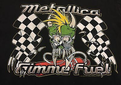 Vintage 1990's 1997 Metallica Collectible Gimme Fuel Button Up Shirt