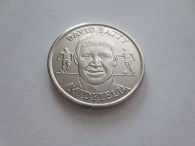 David Batty England Football Coin 1998 Fifa World Cup In France, Leeds Legend