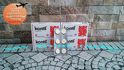 KONTIL ® 24 Piece ( Pyrantel 250 mg ) Chewable Pamoate Anti Parasite Pinworms