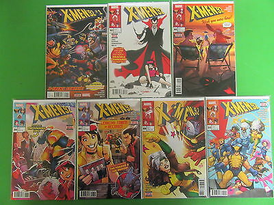 X-Men '92 #1 3 5 6 7 8 10 Run Lot 7 Comics NM/VF 1st Prints Sims Bowers- Marvel