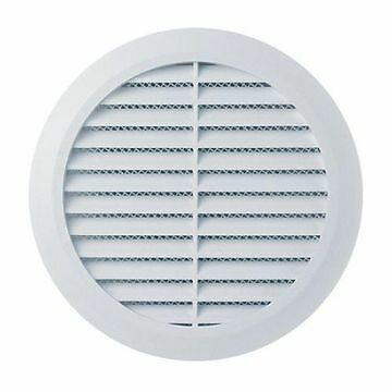 Air Vent Round Grill  Cover Insect Grid 150mm 6 Inch