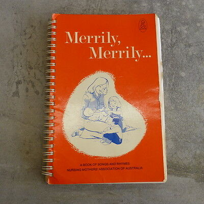 Vintage Merrily Merrily Songs and Rhymes NMAA Over 200 Songs 1979 235 pg