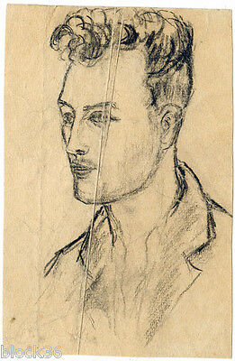YOUNG MAN'S PORTRAIT by unknown Russian artist