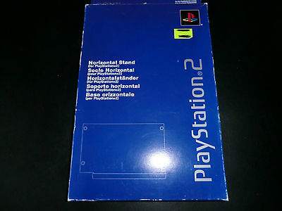 Genuine Sony PlayStation 2 Official Horizontal Stand SCPH-10110 E NEW SEALED