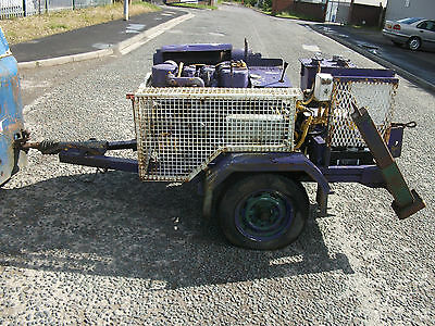 cable pulling diesel electric start fairy capstan winch PRICE INCLUDES VAT