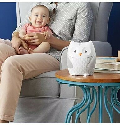 Skip Hop Nightlight Soother Moonlight and Melodies Owl