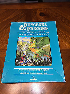Dungeons And Dragons - Companion Rules - Box Set 3 - TSR - D&D