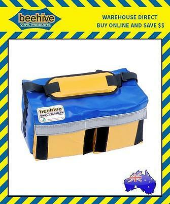Beehive Double Base Tool Bag with Reflective Tape Work Equipment Storage