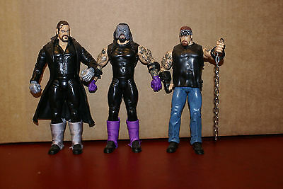 WWE Faces of Undertaker 3-Pack Loose Figures Toys Wrestling