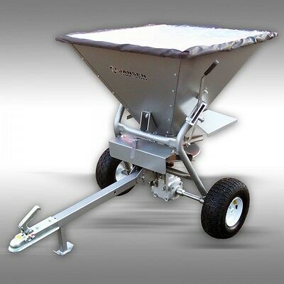 Seed Spreader, tow behind for ATV, Garden tractor, NEW, 350LBS COMMERCIAL