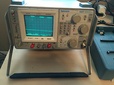 TEKTRONIX 492P Programmable Spectrum Analyzer Opt 2 & 3 Needs calibration As-Is