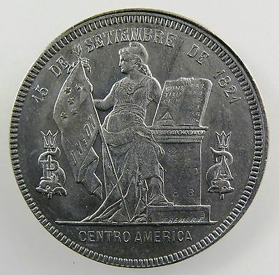 HONDURAS. Republic 1894/82 Silver Peso. Superb strike, SCARCE.  KM# 62