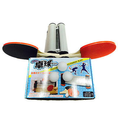 Telescopic Table Tennis Net 1 Pair Table Tennis Board 3 Balls Set FREE SHIPPING