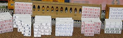 HO Scale Single Lumber Stacks Package (Conifex)