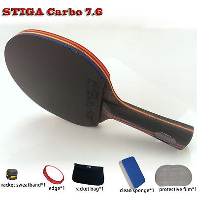 Table tennis racket WRB 7.6 pat set 6 free gifts long handle short FREE SHIPPING