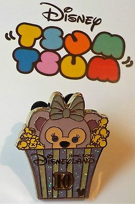 HKDL Hidden Mickey  Tsum Tsum Popcorn Shellie May Completer LE 800 Pin