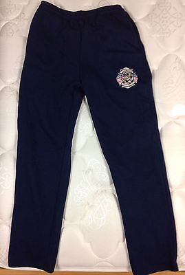 Potomac Hills Fire And Rescue Station 10 Sweat Pants Large Navy Blue