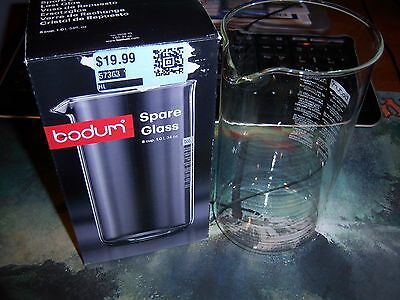 New Bodum Spare Glass Carafe for French Press Coffee Maker, 8-Cup, 34 oz 1 Liter