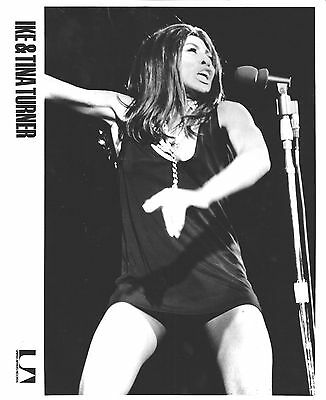 "Tina Turner Original 1960's U.a. Records Publicity Photo ""Proud Mary"""