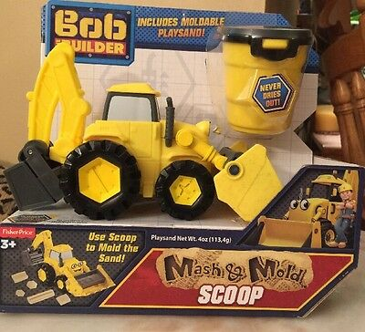 Bob The Builder Mash And Mold Scoop -Fisher Price