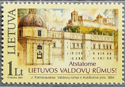 Lithuania stamps - Palace of Lithuanian Rulers_2003.