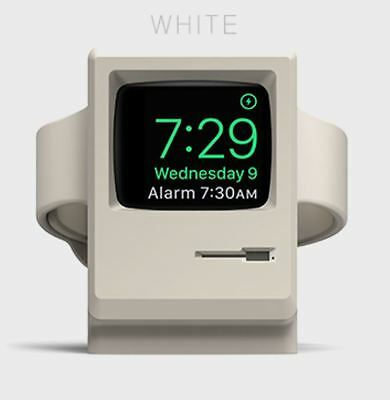 elago w3  Stand _ only for Apple Watch _ Classic Apple PC Design _White