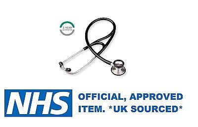 Ruby Nhs Quality Diamond Cardiology Stethoscope For Emt Medical Doctor Vet *new*