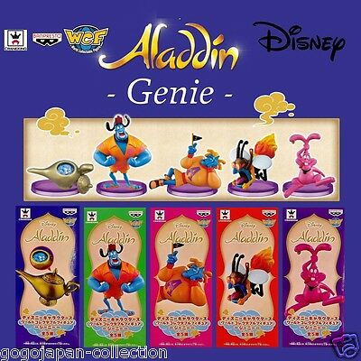 Disney Characters WCF World Collectable Figure  ALADDIN GENIE Complete set